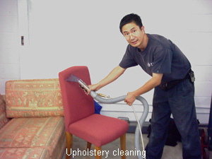 Upholstry cleaning
